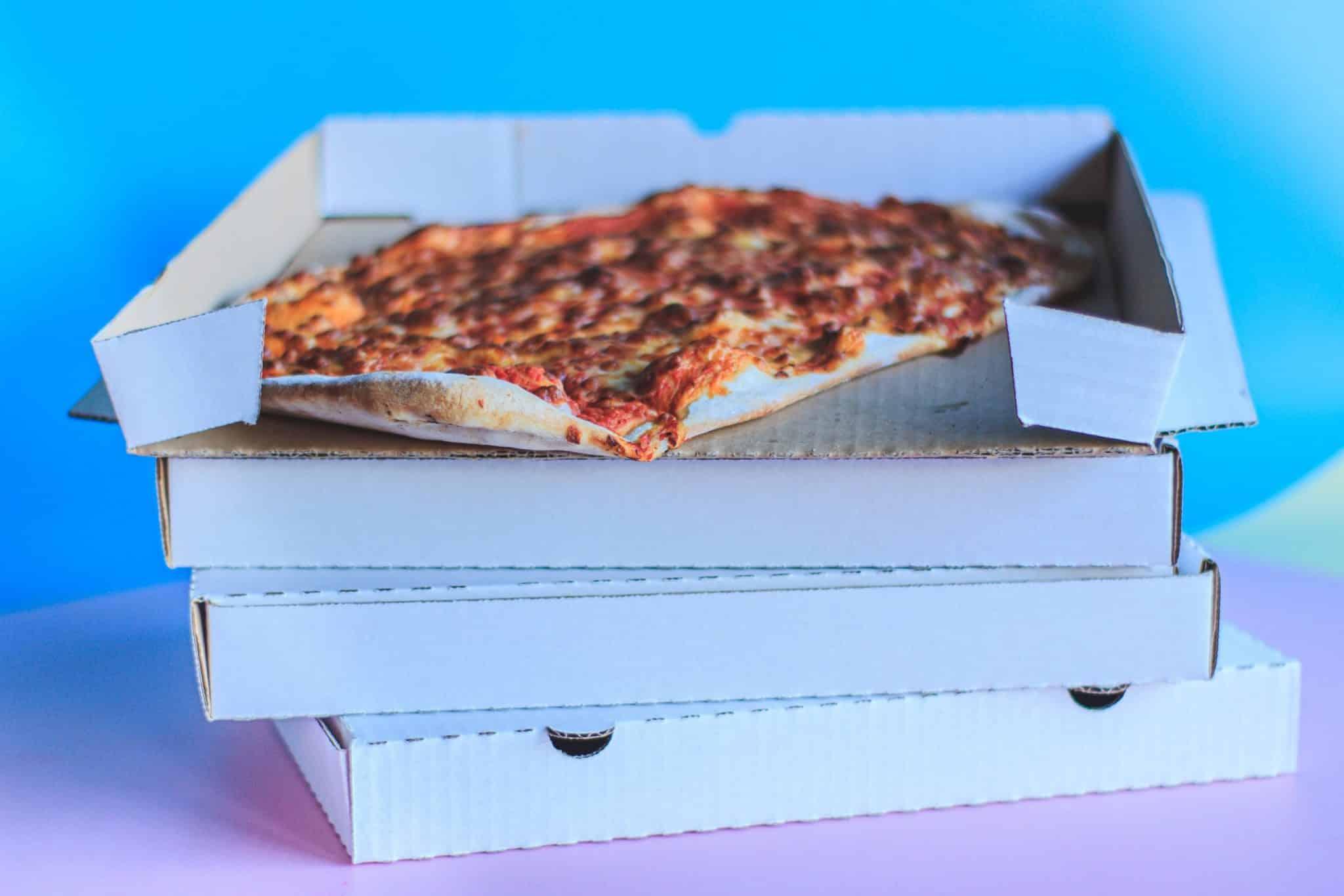 Carton de pizza